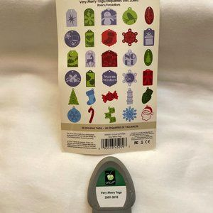 Cricut ~ Very Merry Tags cartridge ~ #2000051